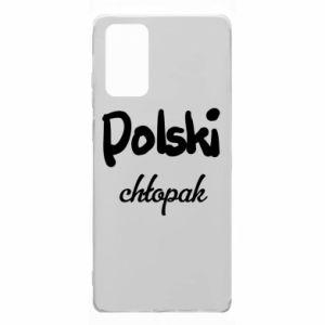Etui na Samsung Note 20 Polski chłopak