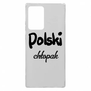 Etui na Samsung Note 20 Ultra Polski chłopak