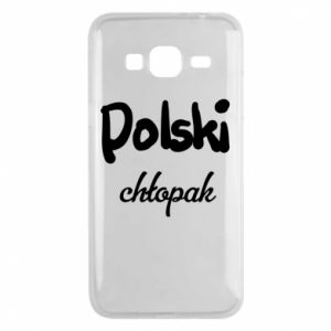 Phone case for Samsung J3 2016 Polish boy - PrintSalon