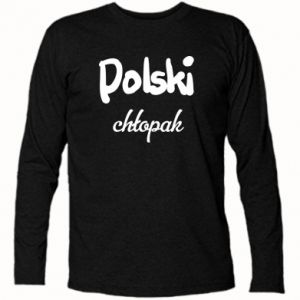 Long Sleeve T-shirt Polish boy - PrintSalon
