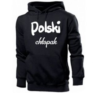 Men's hoodie Polish boy - PrintSalon