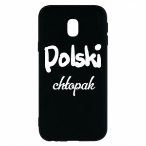 Phone case for Samsung J3 2017 Polish boy - PrintSalon