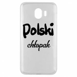 Phone case for Samsung J4 Polish boy - PrintSalon