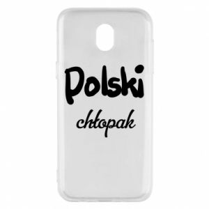 Phone case for Samsung J5 2017 Polish boy - PrintSalon