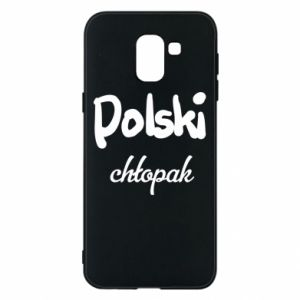 Phone case for Samsung J6 Polish boy - PrintSalon