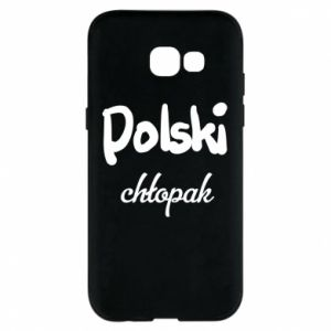 Phone case for Samsung A5 2017 Polish boy - PrintSalon