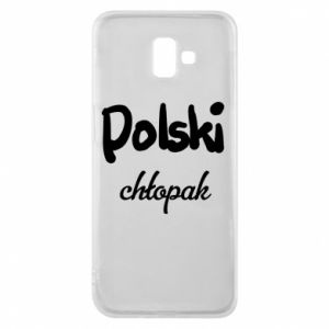 Phone case for Samsung J6 Plus 2018 Polish boy - PrintSalon