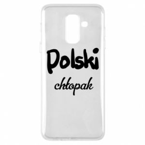 Phone case for Samsung A6+ 2018 Polish boy - PrintSalon