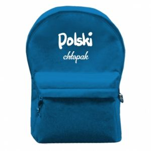 Backpack with front pocket Polish boy - PrintSalon