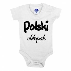 Baby bodysuit Polish boy - PrintSalon