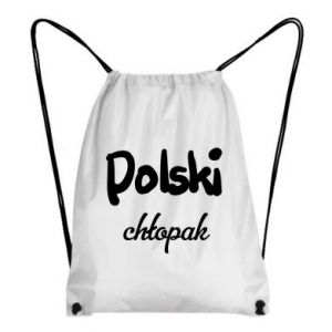 Backpack-bag Polish boy - PrintSalon