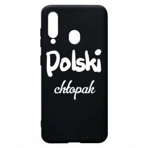 Phone case for Samsung A60 Polish boy - PrintSalon