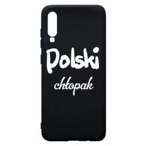 Phone case for Samsung A70 Polish boy - PrintSalon