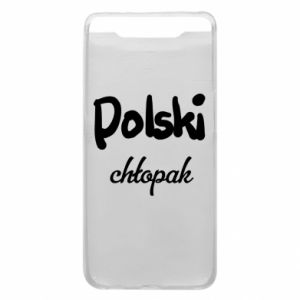 Phone case for Samsung A80 Polish boy - PrintSalon