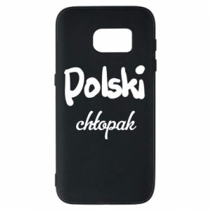 Phone case for Samsung S7 Polish boy - PrintSalon