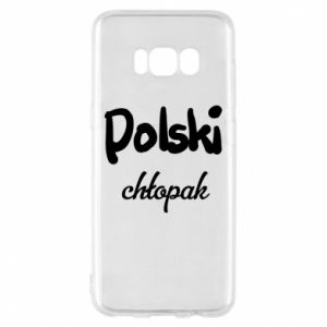 Phone case for Samsung S8 Polish boy - PrintSalon