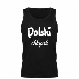 Men's t-shirt Polish boy - PrintSalon