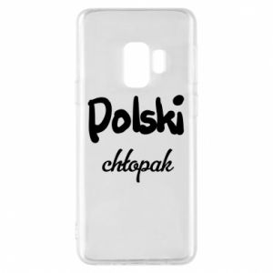 Phone case for Samsung S9 Polish boy - PrintSalon
