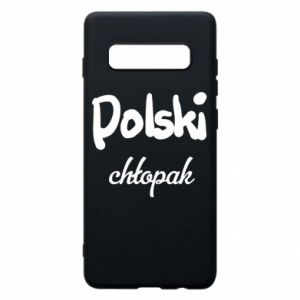 Phone case for Samsung S10+ Polish boy - PrintSalon