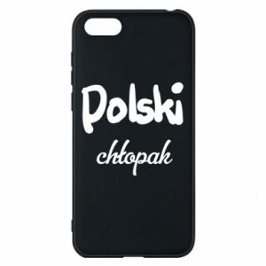 Phone case for Huawei Y5 2018 Polish boy - PrintSalon
