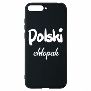 Phone case for Huawei Y6 2018 Polish boy - PrintSalon