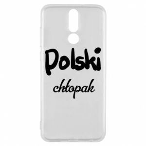 Phone case for Huawei Mate 10 Lite Polish boy - PrintSalon