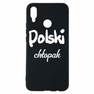 Phone case for Huawei P Smart Plus Polish boy - PrintSalon