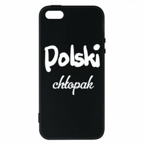 Phone case for iPhone 5/5S/SE Polish boy - PrintSalon