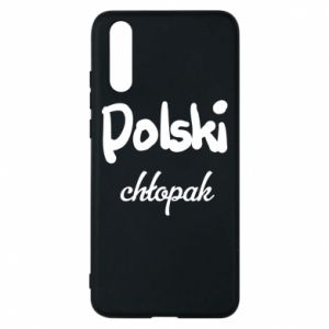 Phone case for Huawei P20 Polish boy - PrintSalon