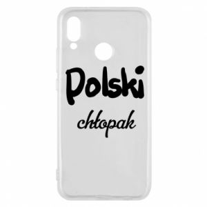 Phone case for Huawei P20 Lite Polish boy - PrintSalon