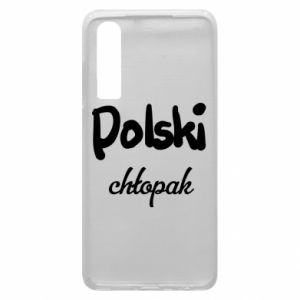 Phone case for Huawei P30 Polish boy - PrintSalon