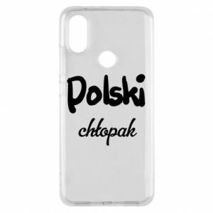 Phone case for Xiaomi Mi A2 Polish boy - PrintSalon