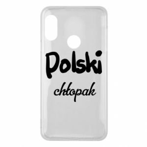 Phone case for Mi A2 Lite Polish boy - PrintSalon