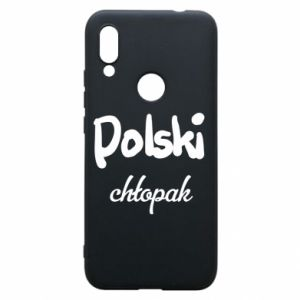 Phone case for Xiaomi Redmi 7 Polish boy - PrintSalon