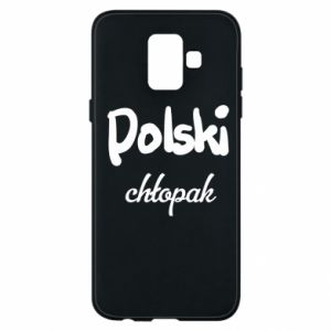 Phone case for Samsung A6 2018 Polish boy - PrintSalon