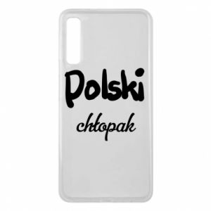 Phone case for Samsung A7 2018 Polish boy - PrintSalon