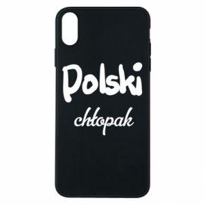 Etui na iPhone Xs Max Polski chłopak