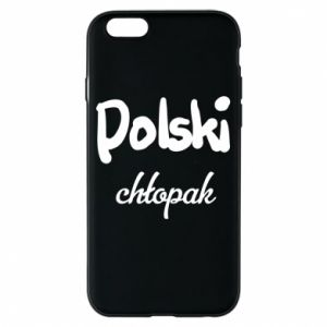 Phone case for iPhone 6/6S Polish boy - PrintSalon