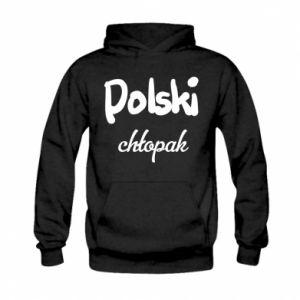 Bluza z kapturem dziecięca Polski chłopak