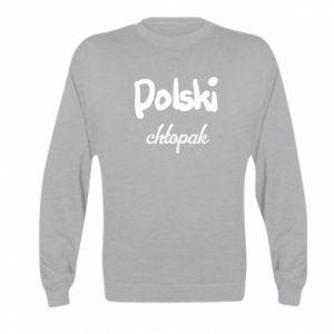 Bluza dziecięca Polski chłopak