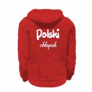 Bluza na zamek dziecięca Polski chłopak