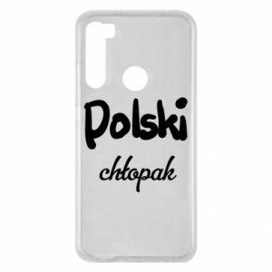 Etui na Xiaomi Redmi Note 8 Polski chłopak