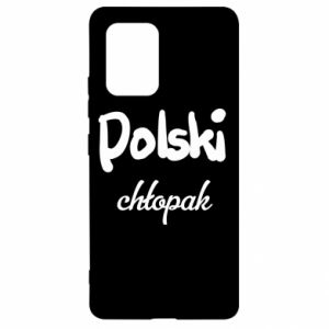 Etui na Samsung S10 Lite Polski chłopak