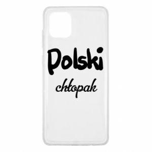Etui na Samsung Note 10 Lite Polski chłopak