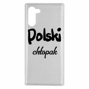 Etui na Samsung Note 10 Polski chłopak