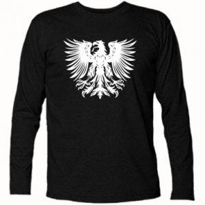 Koszulka z długim rękawem Polski herb - PrintSalon