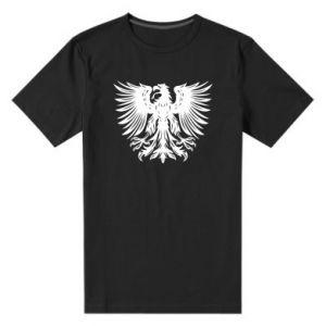 Męska premium koszulka Polski herb - PrintSalon