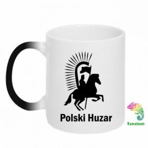 Kubek-kameleon Polski huzar