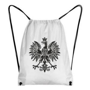 Plecak-worek Polski orzeł - PrintSalon