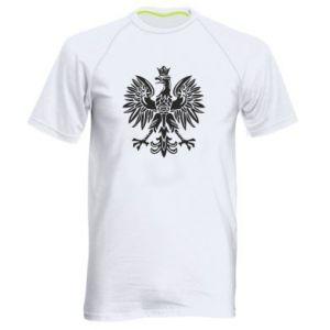 Męska koszulka sportowa Polski orzeł - PrintSalon